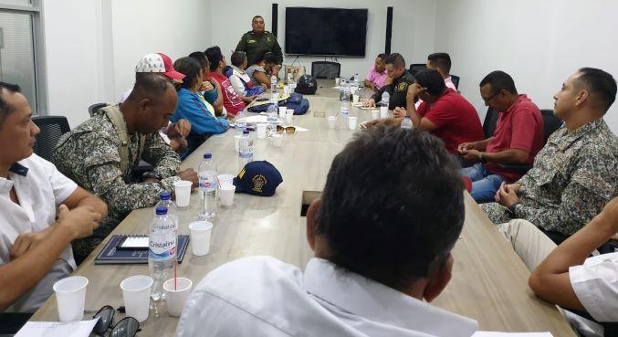 Acompañamiento a líderes y docentes amenazados en Bolívar.