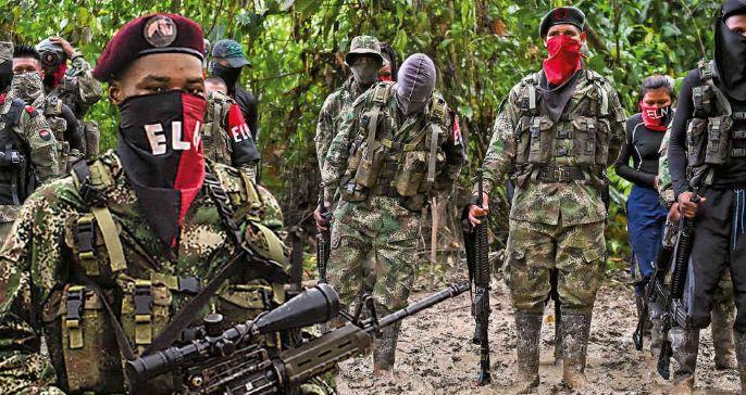 El Eln anuncia paro armado por 72 horas en Colombia.