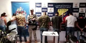 Caen 2 mujeres y 5 hombres al servicio del «Clan del Golfo» en Bolívar