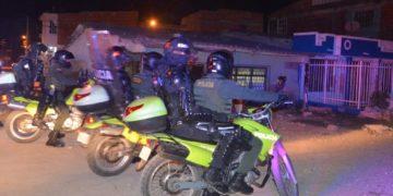 Estricto control en las calles de Cartagena para garantizar toque de queda.