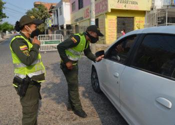 106 comparendos en las primeras 24 horas de cuarentena obligatoria en Bolívar.