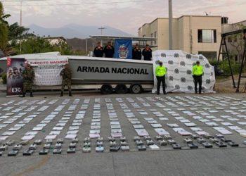 Más de 32 toneladas de cocaína han sido incautadas en el Caribe