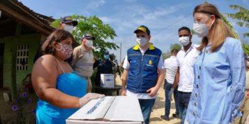 Llega más ayuda humanitaria a Santa Rosa de Lima, Bolívar.