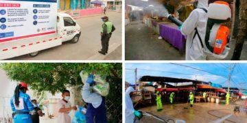 Acelerado aumento de contagios y muertos por Coronavirus en Cartagena