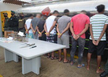Recapturadas 132 personas por el delito de fuga de presos en Bolívar
