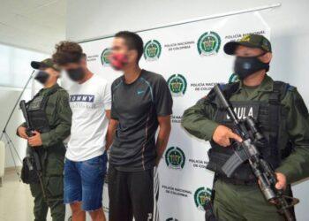 A la cárcel dos hombres que extorsionaban a una mujer para no secuestrar a su hijo