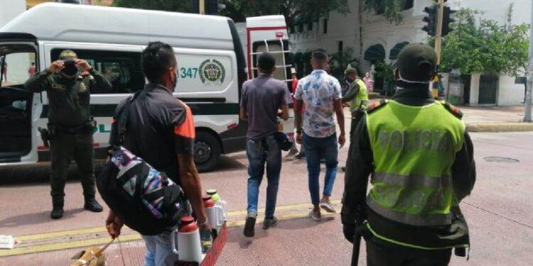 Más de mil comparendos en solo una semana impuso la Policía en Cartagena
