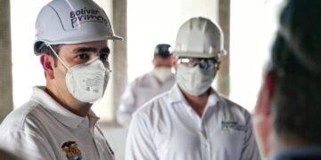 Gobernación de Bolívar inicia obras de adecuación de los pisos 9 y 10 delHUC
