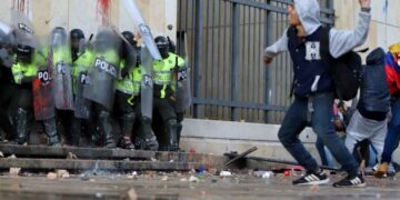 Las marchas y actos vandálicos.