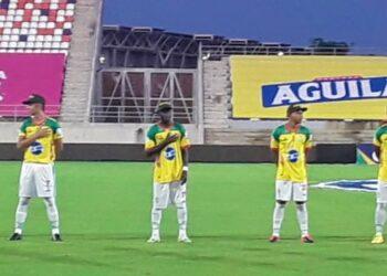 Real Cartagena solidario con la Policía Nacional